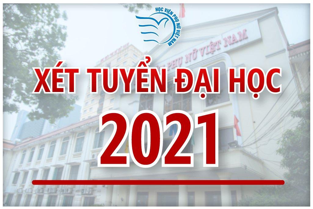 Cập nhật thông tin tuyển sinh năm 2021