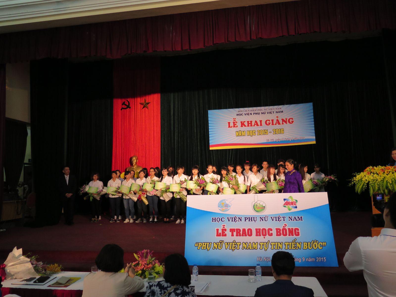 Báo Dân trí: Học viện Phụ nữ Việt Nam - Môi trường học tập hiện đại, sáng tạo và linh hoạt cho sinh viên