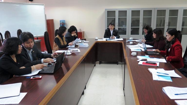 Học viện Phụ nữ Việt Nam triển khai công tác tuyển sinh năm 2016