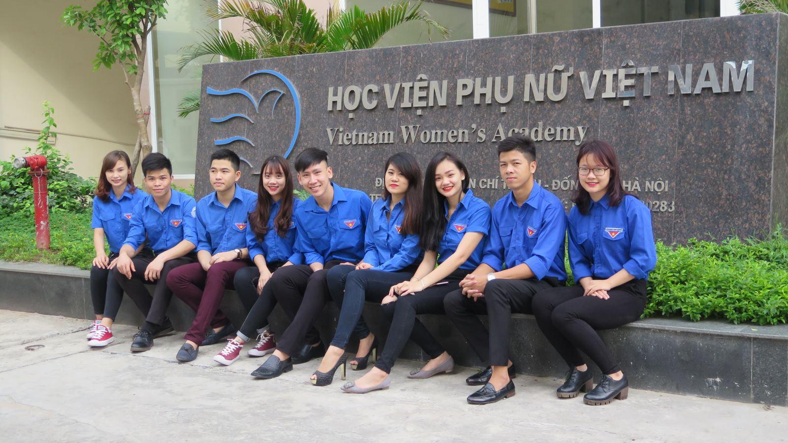 Sinh viên Học viện Phụ nữ Việt Nam