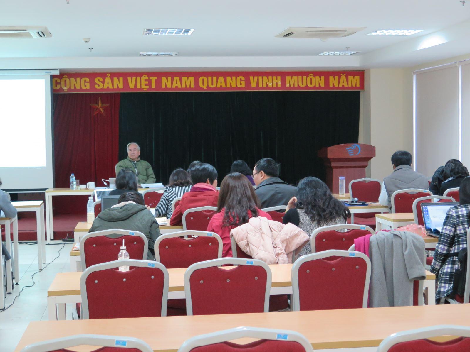 Học viện Phụ nữ Việt Nam tổ chức khóa tập huấn công tác đảm bảo chất lượng giáo dục
