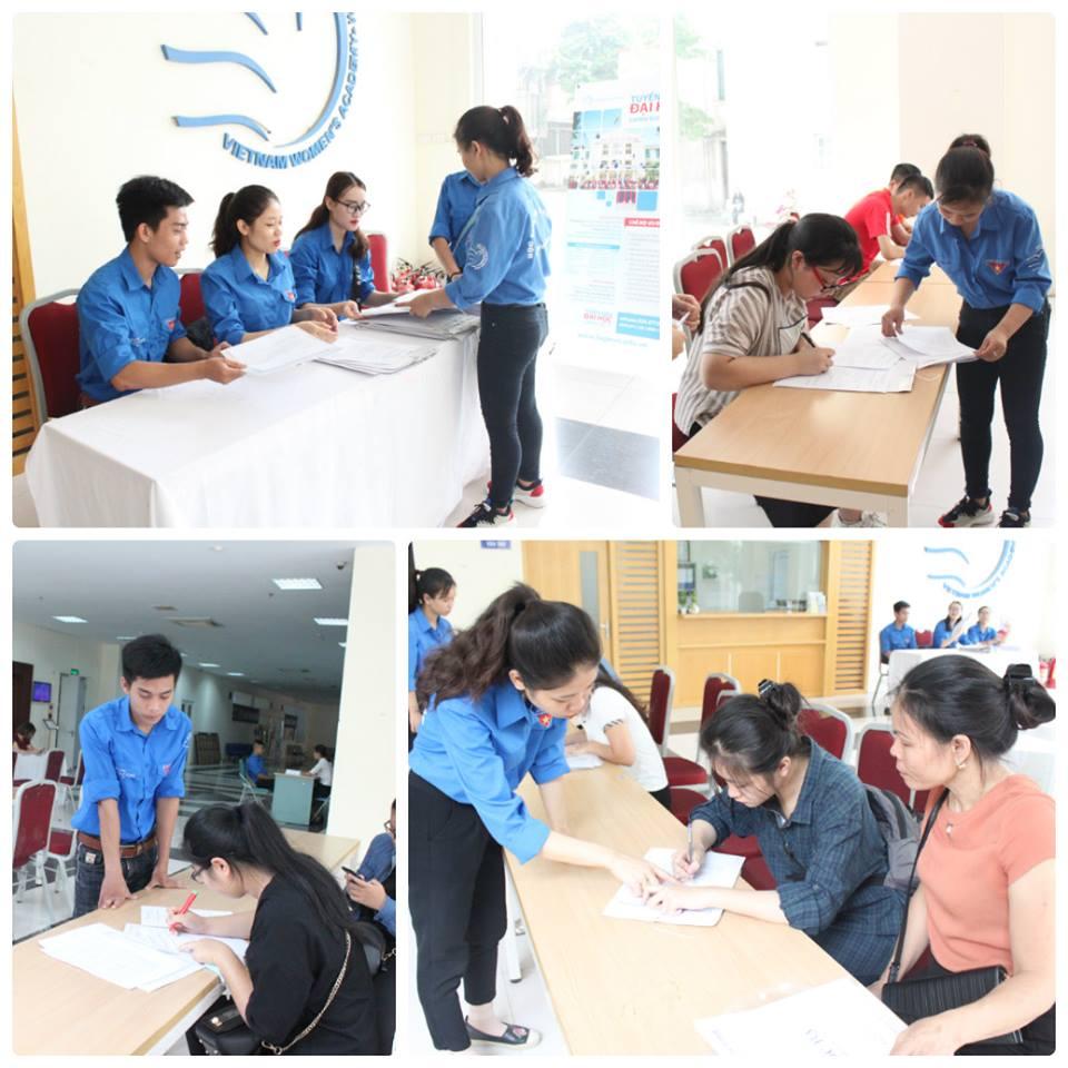 Sinh viên khóa 6 – Những cảm xúc đầu tiên tại Học viện Phụ nữ Việt Nam