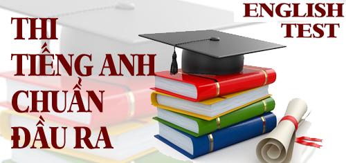 Thông báo đăng ký đánh giá đạt chuẩn đầu ra Tiếng Anh đợt 2 cho sinh viên khóa II