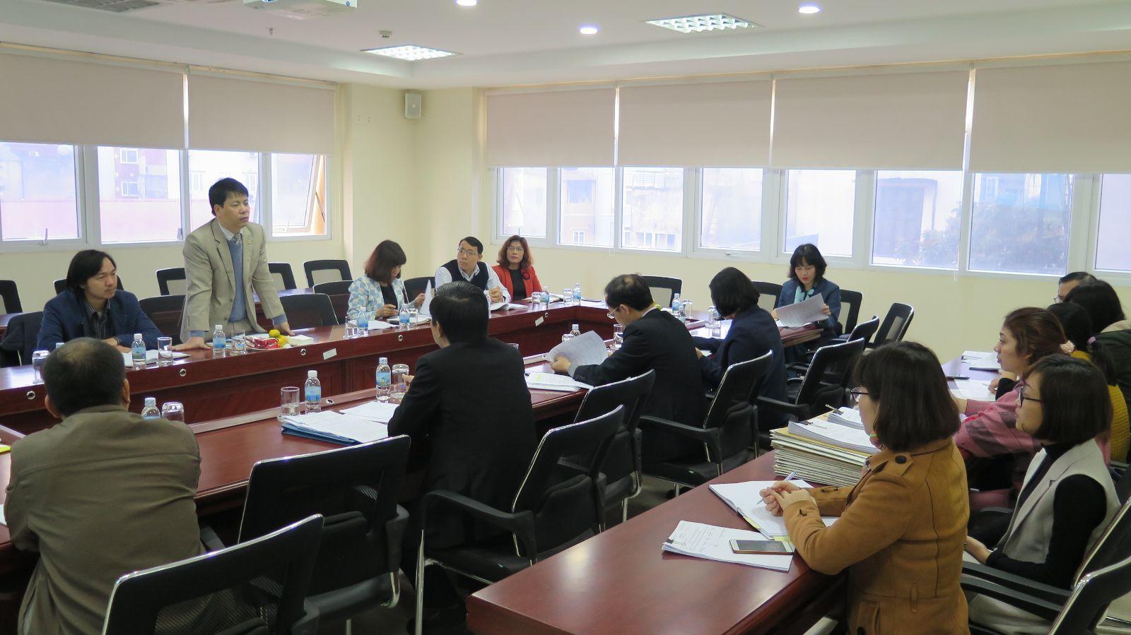 Học viện Phụ nữ Việt Nam thẩm định mở ngành đào tạo trình độ đại học