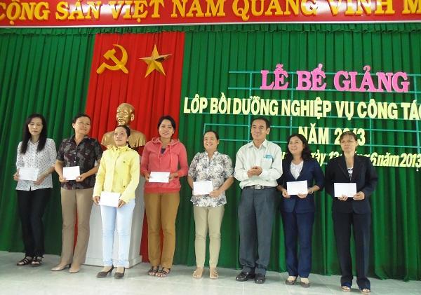 Công tác bồi dưỡng nghiệp vụ công tác Hội cho đội ngũ cán bộ Hội LHPN Tỉnh Ninh Thuận