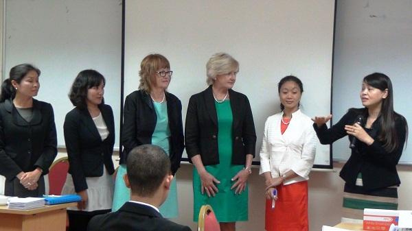 Lớp bồi dưỡng cho cán bộ lãnh đạo hội LHPN Việt Nam về Kỹ năng lãnh đạo và quản lý