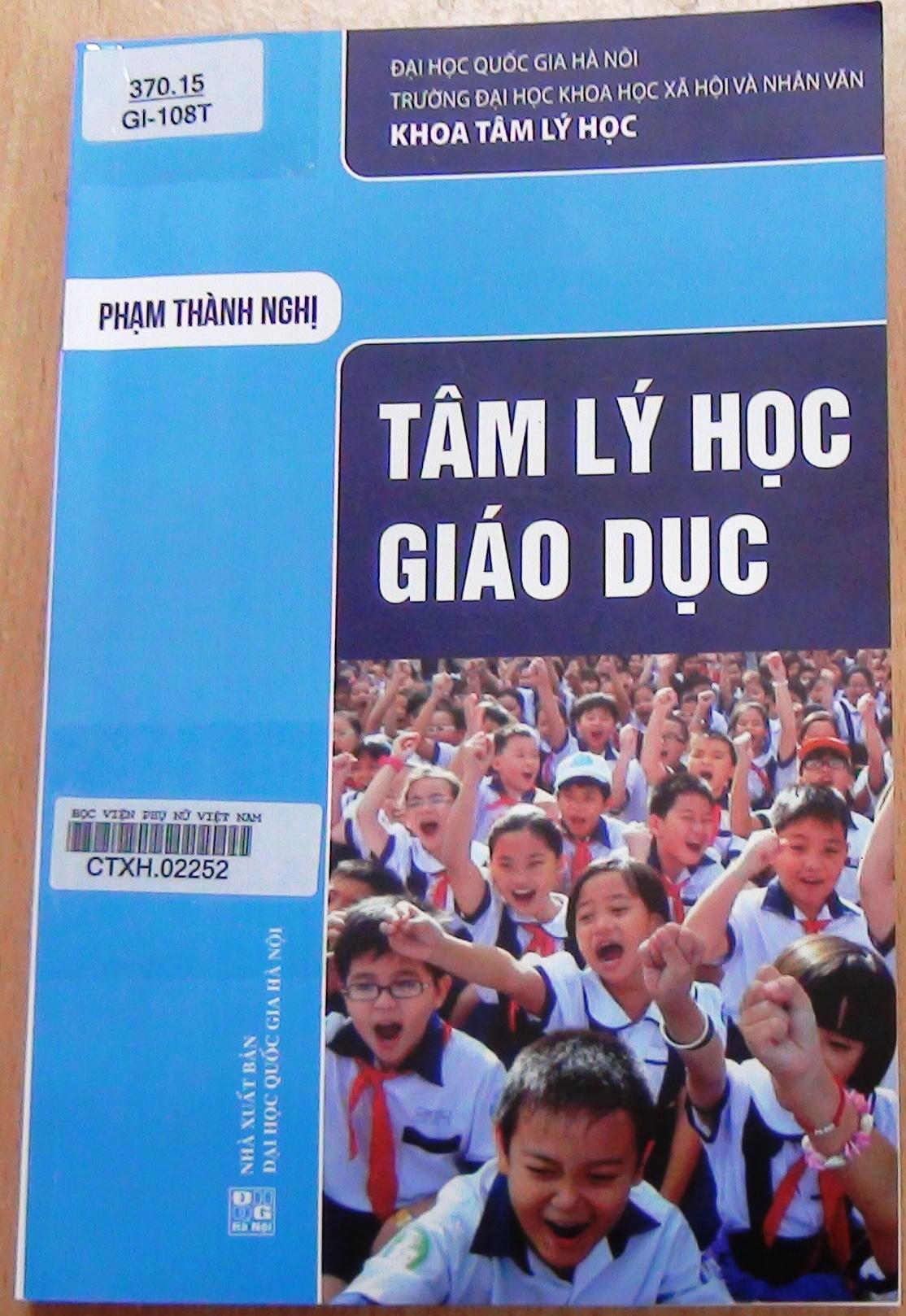Giới thiệu sách: Tâm lý học giáo dục