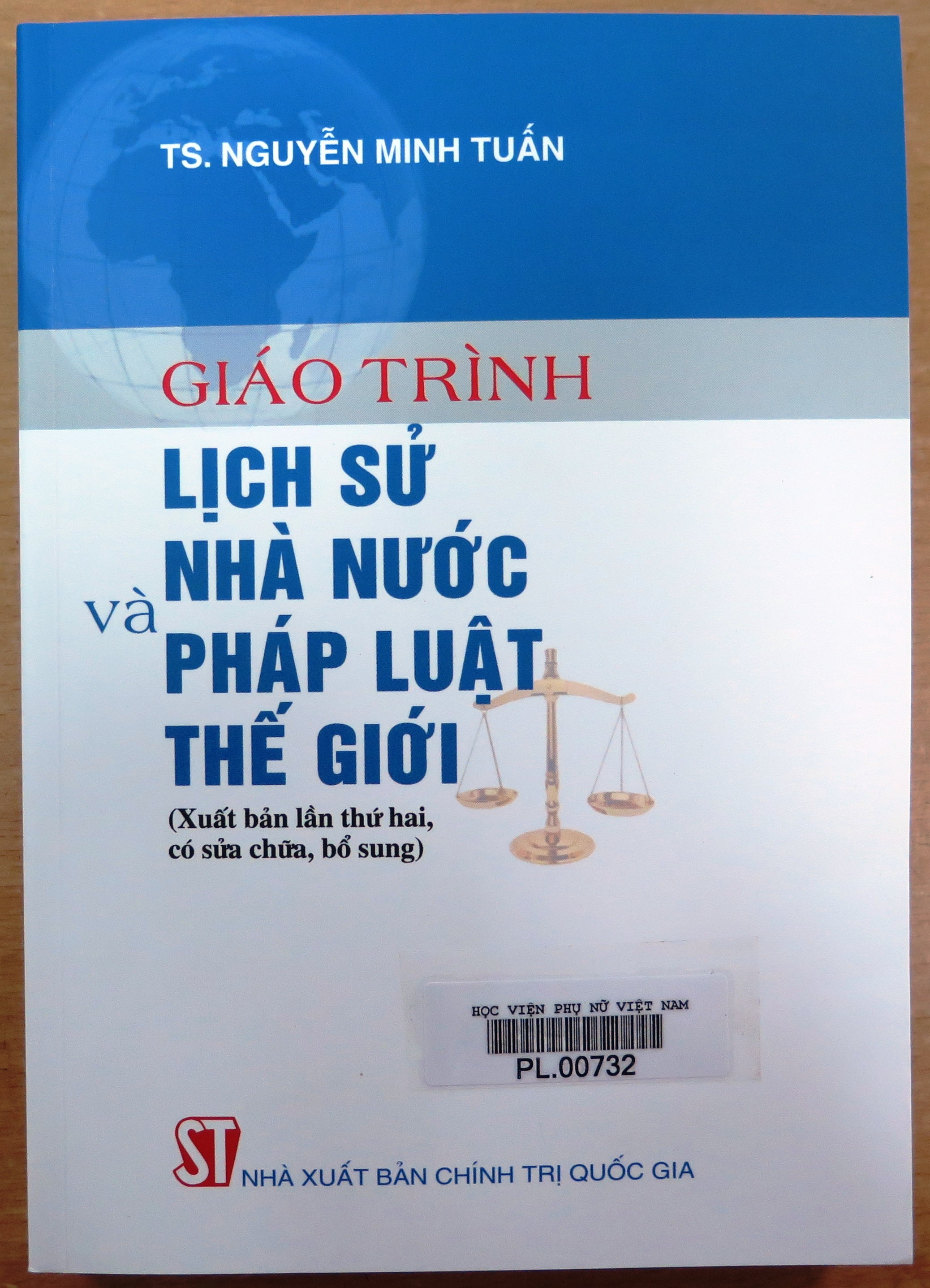 Giới thiệu sách: Giáo trình Lịch sử nhà nước và pháp luật thế giới