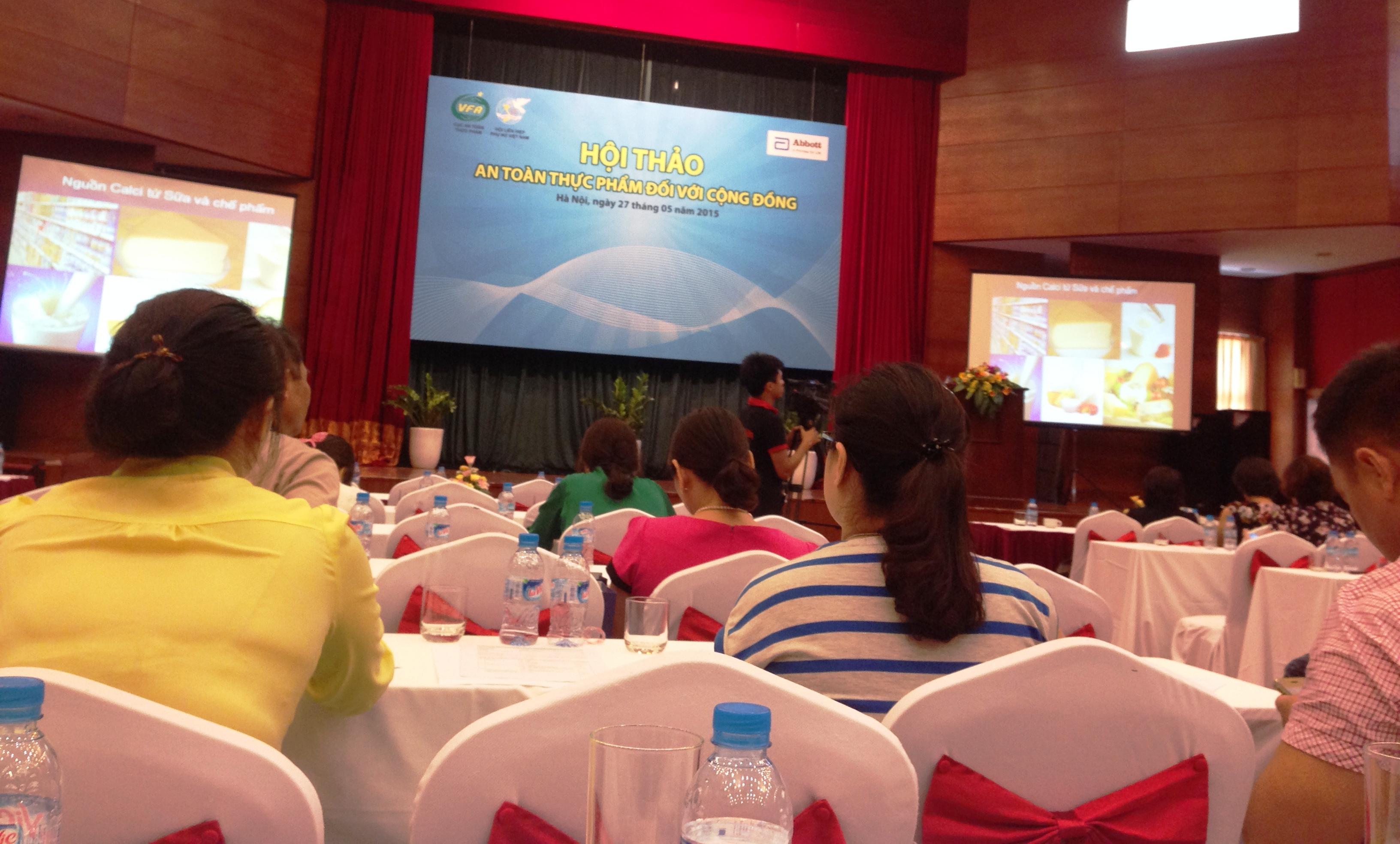 Hội thảo An toàn thực phẩm đối với cộng đồng