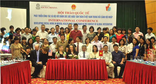 """Hội thảo quốc tế: """"Phát triển công tác xã hội với chăm sóc sức khỏe tâm thần ở Việt Nam trong bối cảnh hội nhập"""""""