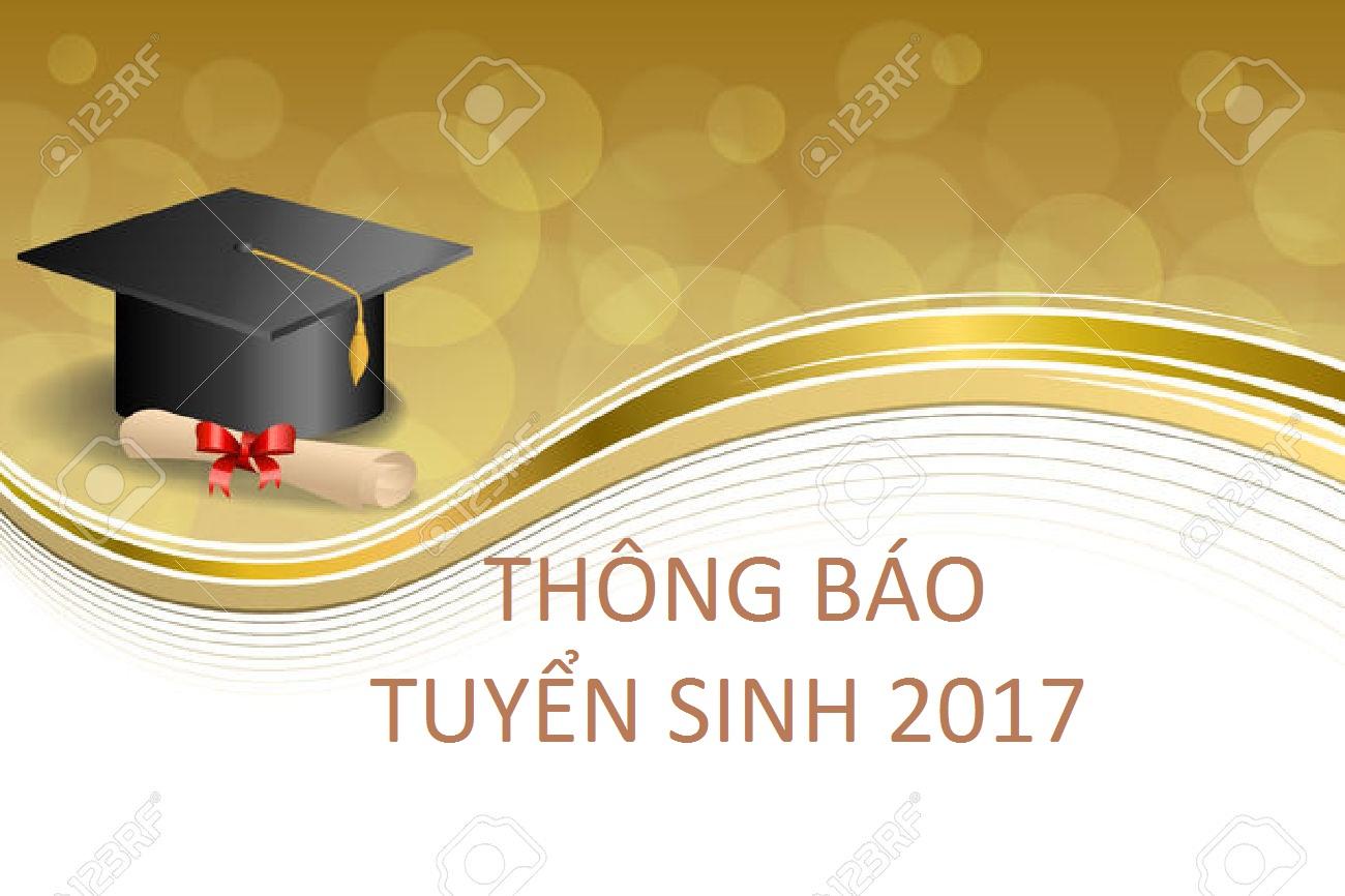 Thông báo tuyển sinh Đại học chính quy 2017