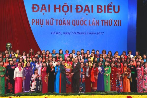 Đại hội đại biểu phụ nữ toàn quốc lần thứ XII thành công tốt đẹp