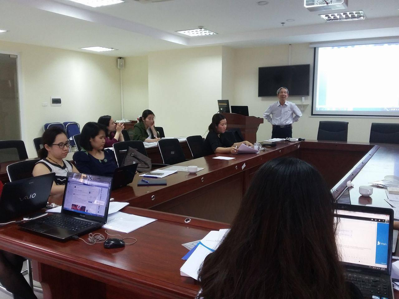 """Học viện Phụ nữ Việt Nam tổ chức tập huấn """"Phương pháp tổ chức, thực hiện dự án điều tra cơ bản"""""""
