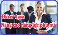 Dịch vụ đào tạo nâng cao năng lực phụ nữ